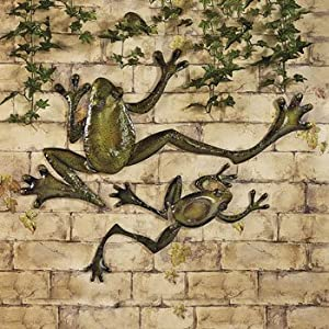 Leapin' Wall Frogs - Wall Art and Decorations