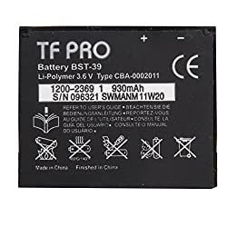 Tfpro 930 Mah Lithium Ion Battery For Sony Ericsson Bst 39 Z555I W910I W908 W308 CW508 C902C G702 R300 T707 C902C+