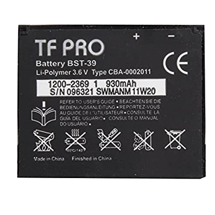 Tfpro-BST-39-930mAh-Battery-(For-Sony-Ericsson)