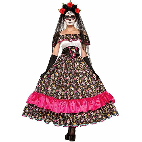 Day of the Dead Spanish Lady Adult Costume - Standard