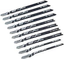 Comprar Bosch 2607010629 Pro Line - Juego de hojas de sierra de calar (10 unidades, para madera)