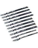 Bosch x-Pro Line STS / 2607010629 Coffret de lames pour scie sauteuse 10 pièces Bois