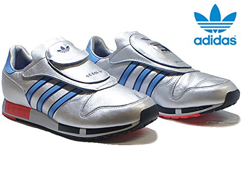 Micropacer OG Mens in Silver/Red by Adidas, 11