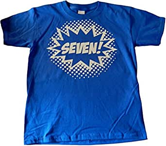 Custom Kingdom Big Boys 39 Seven Superhero 7th: boys superhero t shirts