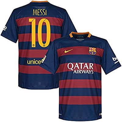 Barcelona Home Messi Jersey 2015 / 2016 (Official Printing)
