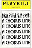 img - for A Chorus Line Playbill for the Original Broadway Production, Conceived, Choreographed, and Directed By Michael Bennett - Shubert Theatre - March 1977 book / textbook / text book