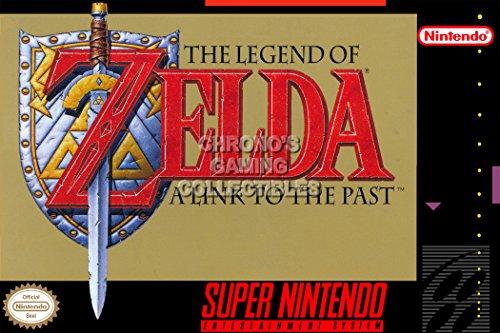 "CGC Poster grande, motivo: the Legend of Zelda A Link del passato Super Nintendo SNES-Box ZELP04 ZELP04-Art, Carta, 24"" x 36"" (61cm x 91.5cm)"