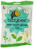Bizzybee Satin Touch Rubber Gloves Large (Pack of 6)