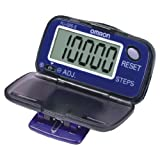 Omron HJ005-E Step Counter Pedometer With Large Lcd