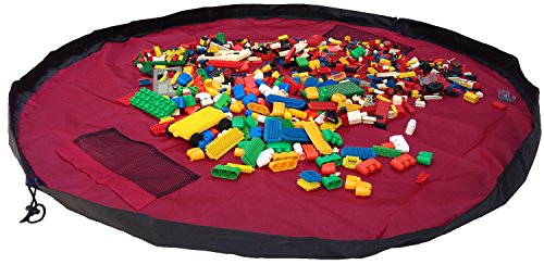 Read About Children Play Mat and a Toy Storage Bag from Bow-Tiger - Multi Purpose Kid's Activity Mat...