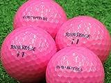 【Aランク】【ロゴなし】ツアーステージ V10 LIMITED ピンク 2014年モデル 12個セット【ロストボール】