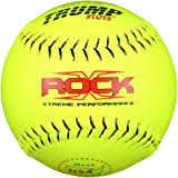 Trump® X-ROCK-NSA-RP-Y The Rock® Series 12 inch 52/275 NSA Composite Leather Softball (Sold in Dozens)