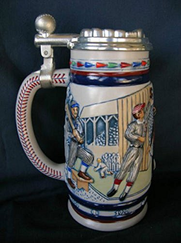 Avon Great American Baseball Ceramic Stein