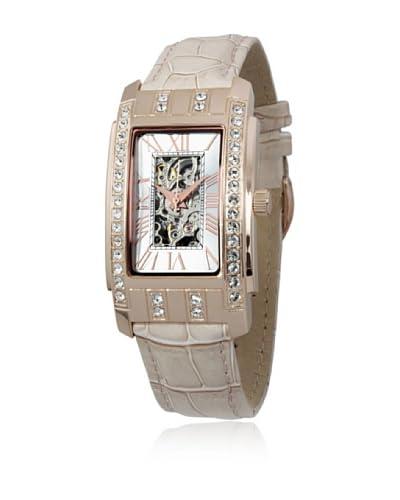 Reichenbach Reloj automático Woman Hartig Beige 28 x 50 mm