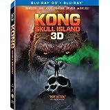 Kong: Skull Island 2D + 3D (Region A Blu-ray) (Hong Kong Version / Mandarin Dubbed. Chinese subtitled) ??: ???
