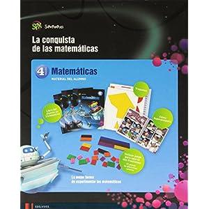 Matemáticas 4º Primaria (Tres Trimestres) (Super