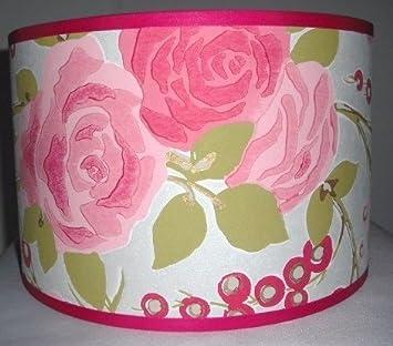 abat jour fait main main 36cm harlequin lola rose cuisine maison m125. Black Bedroom Furniture Sets. Home Design Ideas
