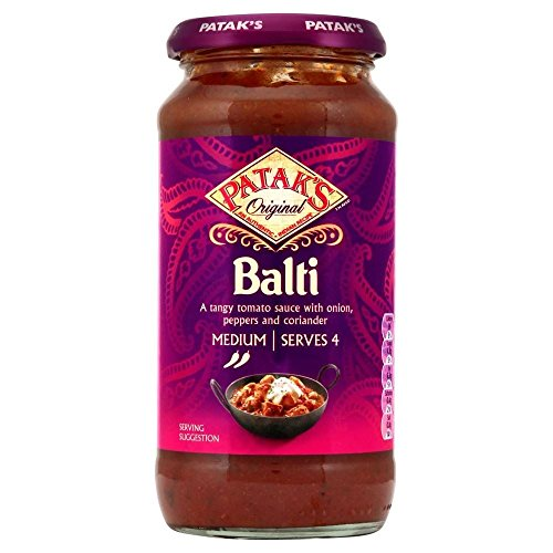 Patak's Balti Cooking Sauce (450g) - Pack of 2 (Balti Cooking compare prices)