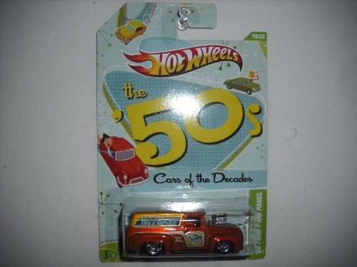 Hot Wheels 2012 the 50s Cars of the Decades 56 Ford F-100 Panel Diecast Vehicle