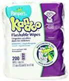 Pampers Kandoo Flushable Sensitive Wipes, 200 Count Baby, NewBorn, Children, Kid, Infant