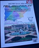 img - for Metro Street Atlas of Philadelphia, PA including Main Line, Delaware County & Eastern Montgomery County book / textbook / text book