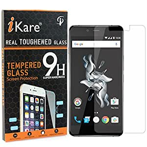 iKare Pack of 2 Tempered Glasses for OnePlus X, Tempered Screen Protector for OnePlus X