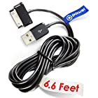 T-Power 30-pin ( 6.6 ft Long Cable ) for Samsung Galaxy Tab Note 7.0 7.7 8.9 10.1 Galaxy Tab 7