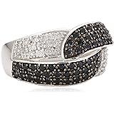 Celesta - 360270088L-056 - Bagues - Femme - Argent 925/1000-rhodié 7.90 Gr - Avec 84 zirconium