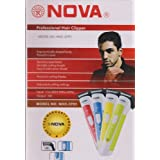 Nova Rechargeable Trimmer & Shaver for Men Hair Trimmer Beard Trimmer Moustache Trimmer NHC-3791
