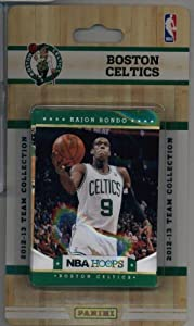 2012-13 Panini NBA Hoops Boston Celtics Team Set (10 Cards)- Kevin Garnett, 2 Rajon... by 2012/13 Panini NBA Hoops