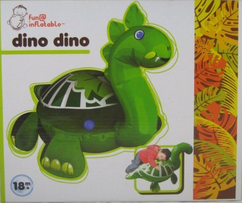Dino Dino Inflatable Riding Toy - 1