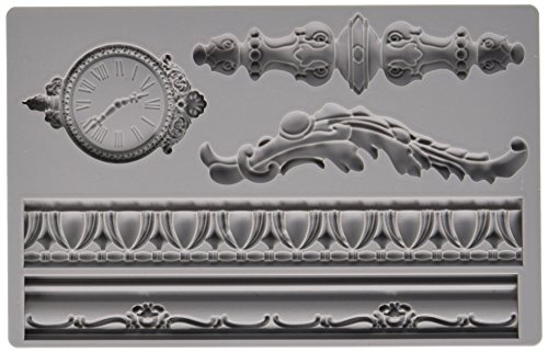 Prima Marketing 814823 Baroque No.6 Iron Orchid Designs Vintage Art Decor Mold, Grey (Vintage Irons compare prices)