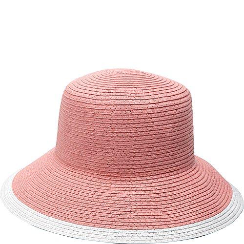 magid-two-tone-paper-downturn-brim-hat-coral