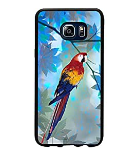 Parrot 2D Hard Polycarbonate Designer Back Case Cover for Samsung Galaxy Note5 :: Samsung Galaxy Note5 N920G :: Samsung Galaxy Note5 N920T N920A N920I