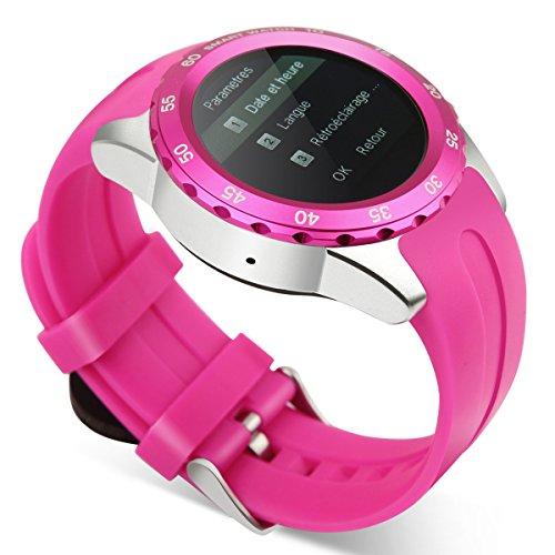 Kingwear Smart Watch Phone Smartwatch Black Sport