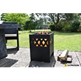 La Hacienda Ottawa Modern Fire Basket Incinerator Wood Burner