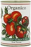 Organico Organic Peeled Tomatoes 400 g (Pack of 12)