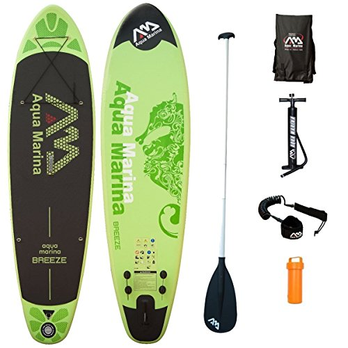 aqua-marina-sup-breeze-kit-paddle-board-300-x-75-x-10-cm-board-alu-paddle-leash