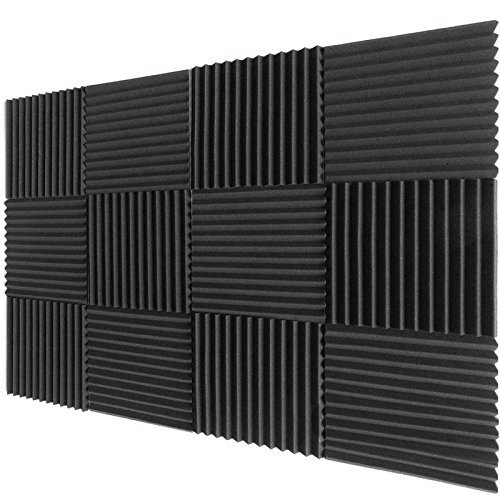 12-pack-acoustic-foam-wedge-panels-studio-soundproofing-wall-tiles-1-x-12-x-12
