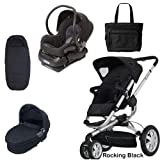 Quinny BUZZ3CCBLK1 Buzz 3 Complete Collection - Rocking Black