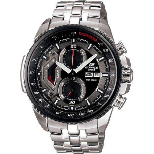 Casio Edifice Herren-Armbanduhr Chronograph Quarz EF-558D-1AVEF