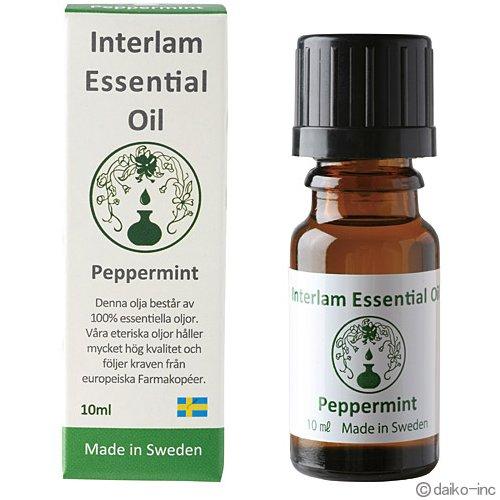 Interlam Essential Oil ペパーミント 10ml