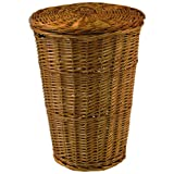 Redmon For Kids Collection Round Willow Hamper in Honey