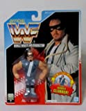Official WWF 1992 Hasbro REPO MAN Vintage Wrestling Figure with ROBBER CLOBBER! Wrestling Action