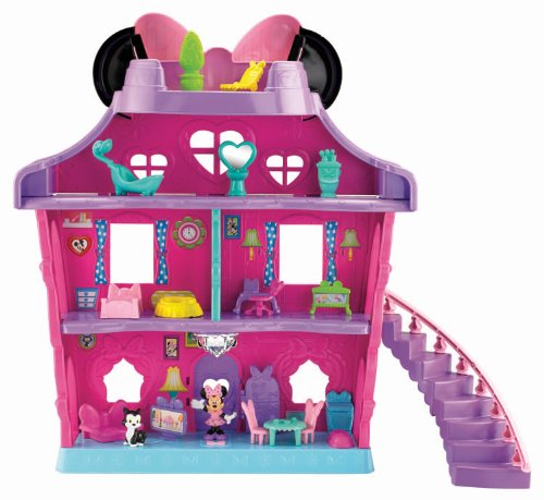 Fisher-Price Minnie Mouse - Minnie's Bow Sweet Home Minnie's throwing a house party!