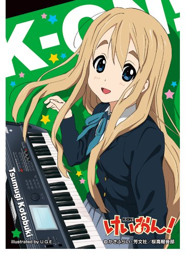Chara Sleeve Collection [K-on! Kotobuki Tsumugi] - 1