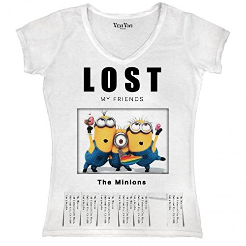 Veni-Vici-T-Shirt-Lost-My-FarbeFrauen-Friends-The-MinionsGreS