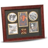Allied Products Frame Firefighter Medallion 5-Picture Collage Frame