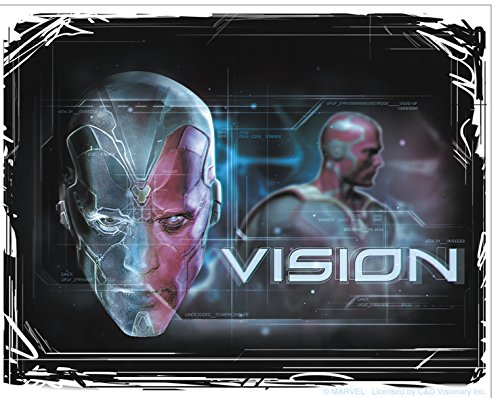 C&D Visionary The Avengers 2 Movie Age of Ultron Vision Sticker