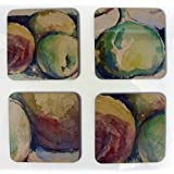 Coasters: Cezanne Peaches and Figs